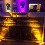 facade boombox, 80's event, djs miami, miami dj, wedding uplight, wedding dj30