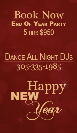 Dance All Night DJs New Years Ad